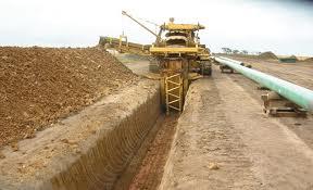 Ditching / penggalian